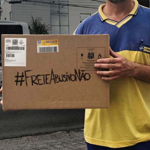 #FRETEABUSIVONÃO